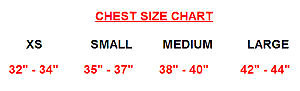 Chest Size Chart
