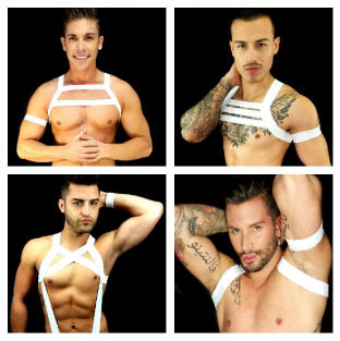 MEN'S WHITE HARNESSES