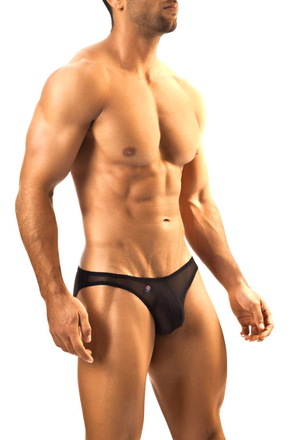 d73919454e Black Sheer Classic Men's Bikini | Tease This End Up