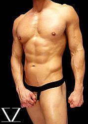 BLACK Bulge Lyfter Jock Strap