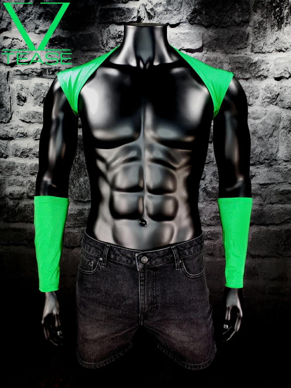 Green Men's Shoulder Shrug