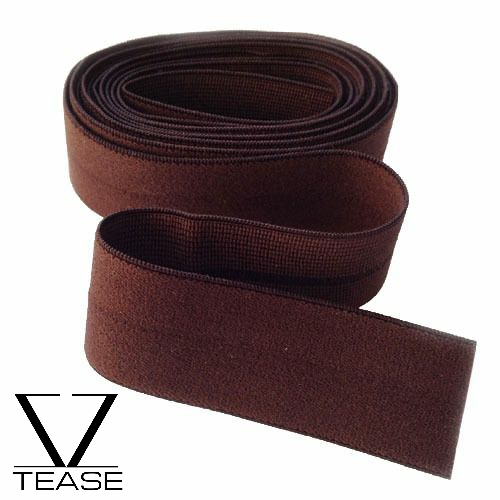 Brown FOE 1 inch Elastic