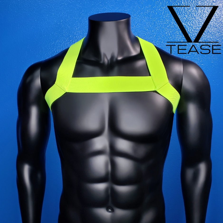 Chartreuse Single Chest Harness
