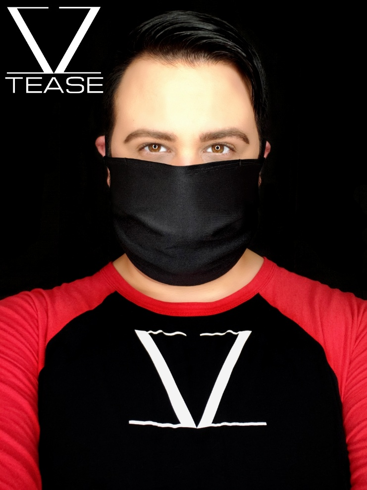 COVER UP FACE MASK BLACK