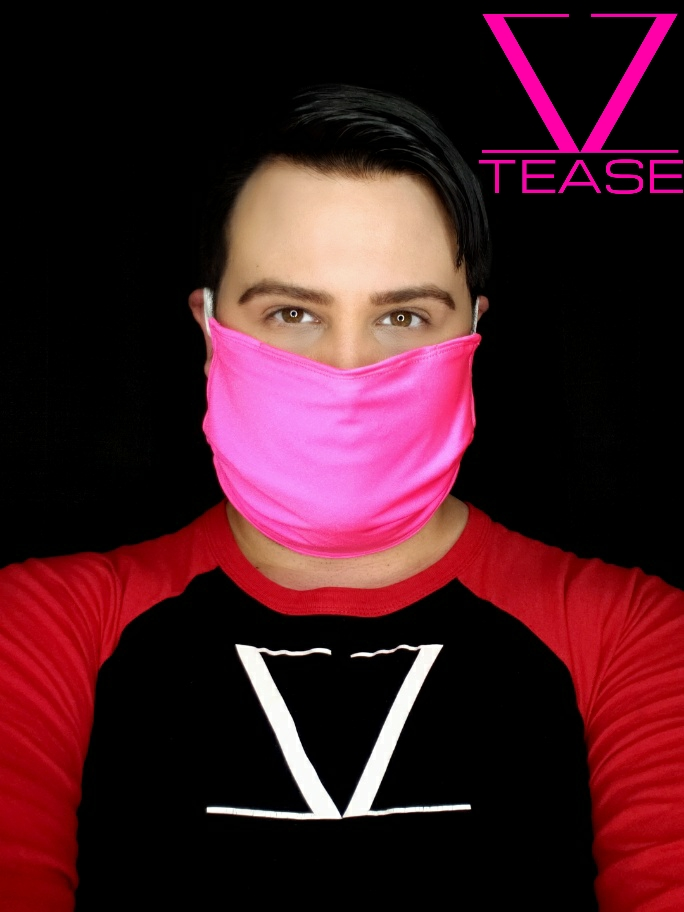 COVER UP FACE MASK HOT PINK
