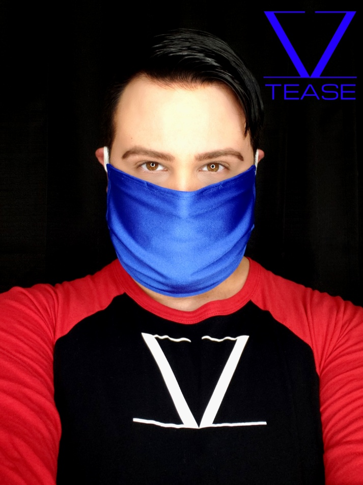 COVER UP FACE MASK ROYAL BLUE