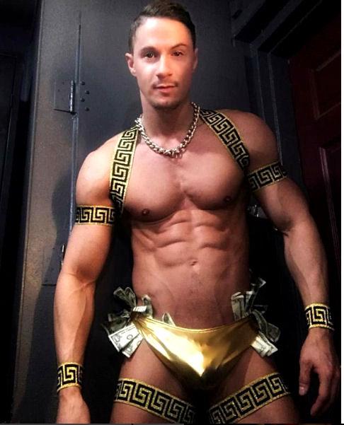 Greek God Golden Shoulder Harness