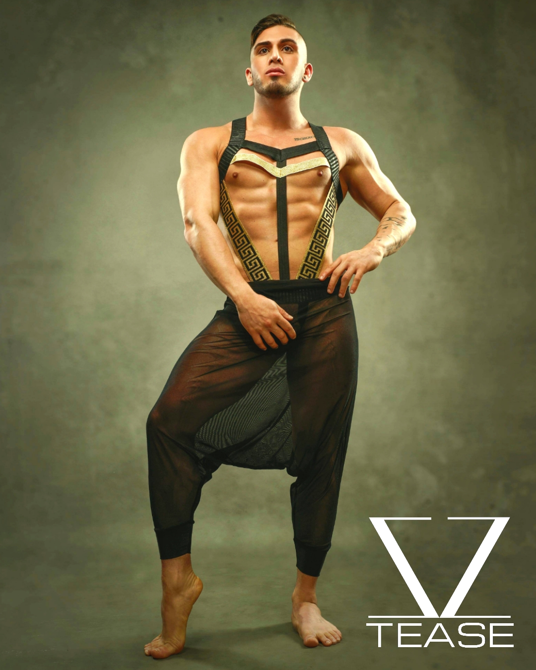 Greek God Commander Body Harness