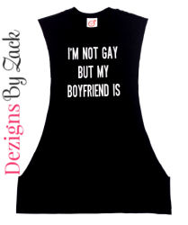 Im Not Gay But My Boyfriend Is Fitness Shirt
