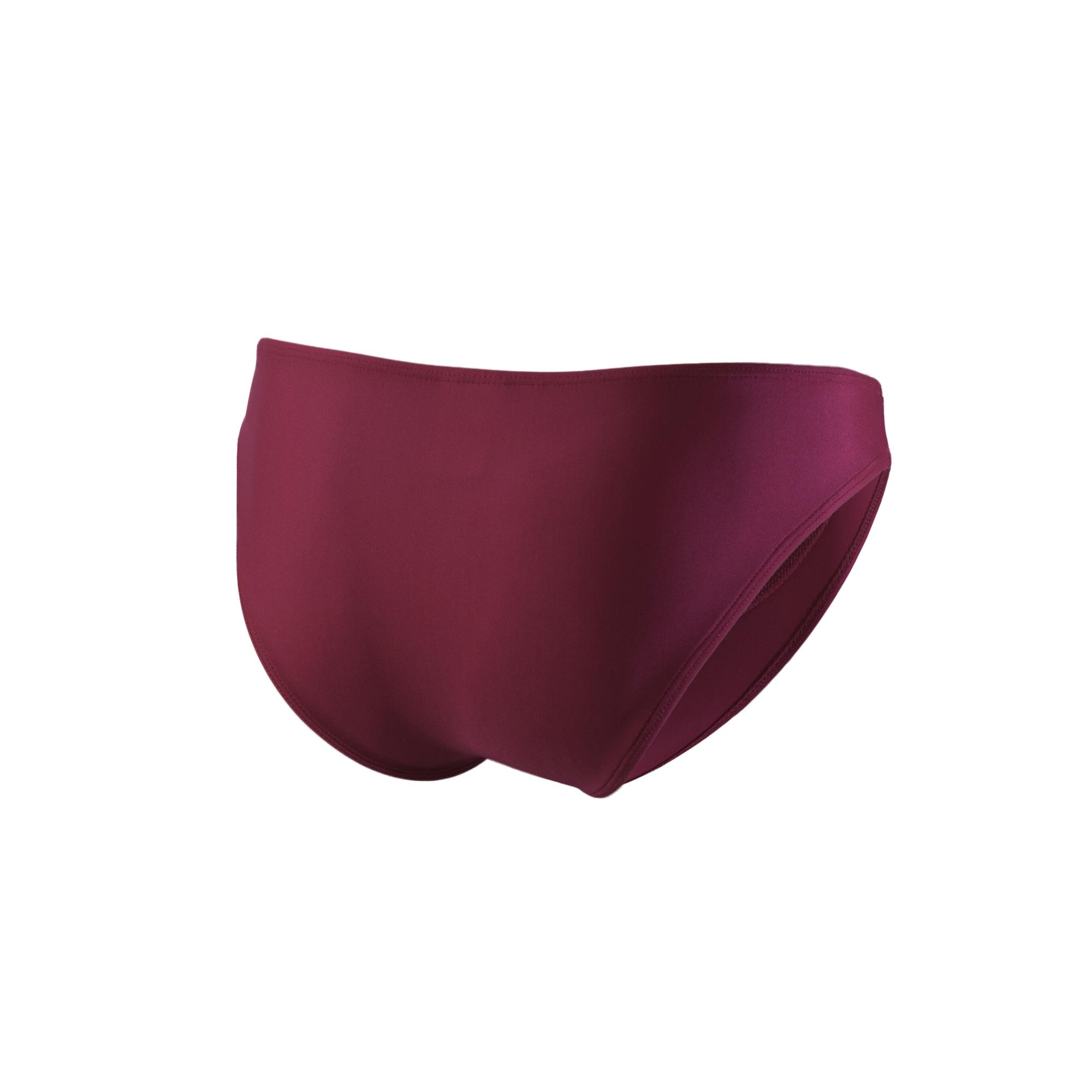 Fuchsia Polyester Classic Men's Bikini