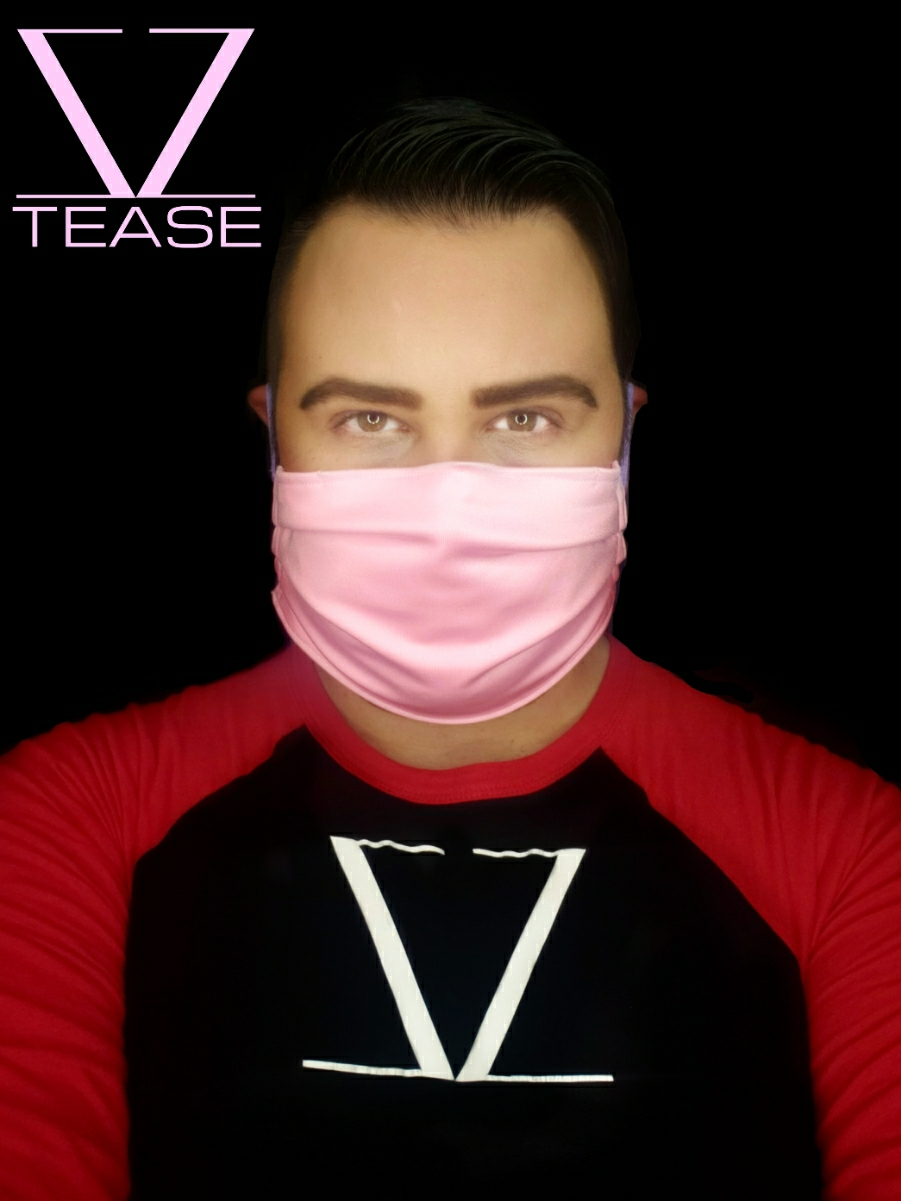 COVER UP FACE MASK BABY PINK