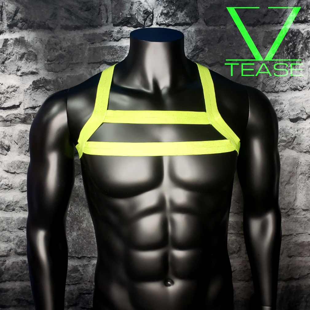 CLEARANCE SMALL Lime Harness