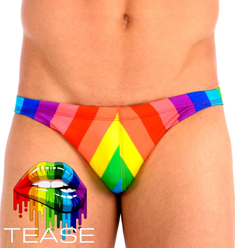 Rainbow Classic Men's Bikini