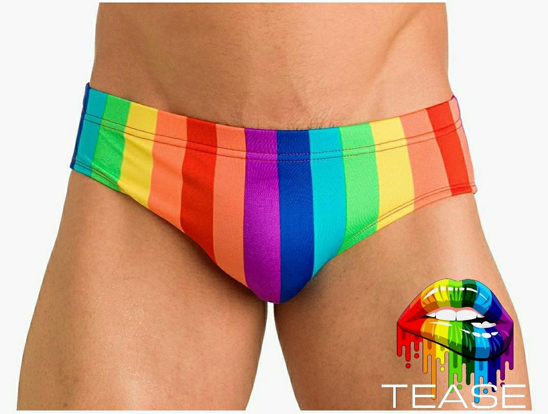 Rainbow Full Bikini Men's