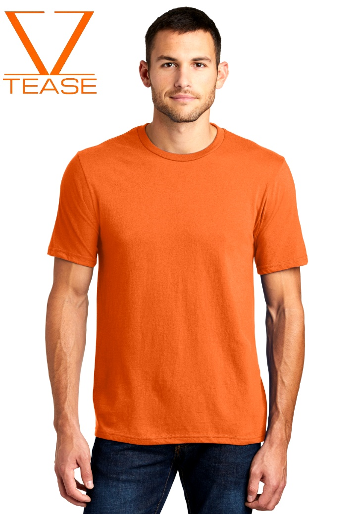 Orange Men's Shirt
