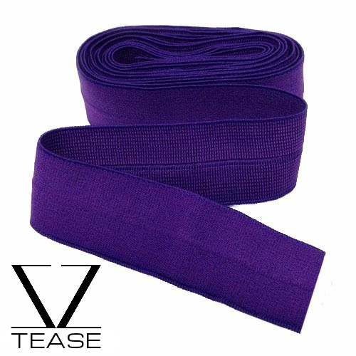 Purple FOE 1 inch Elastic