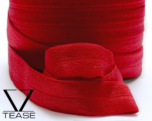 Red FOE 1 inch Elastic