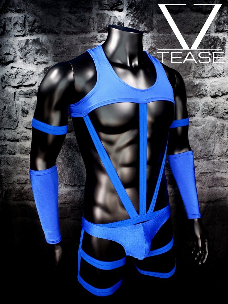 Royal Blue Chief Men's Body Harness
