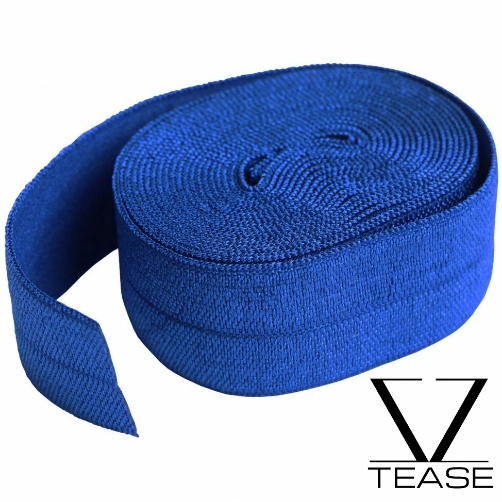 Royal Blue FOE 1 inch Elastic