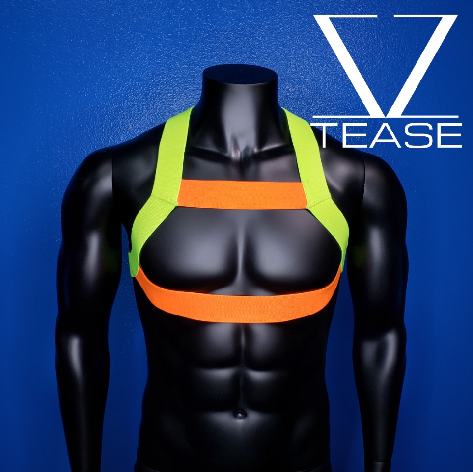 Sexy Construction Worker Bouncer Mens Harness