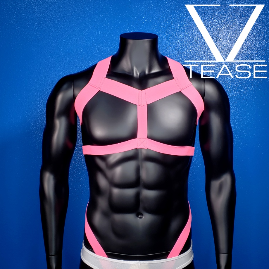 Unicorn Pink Champion Men's Harness