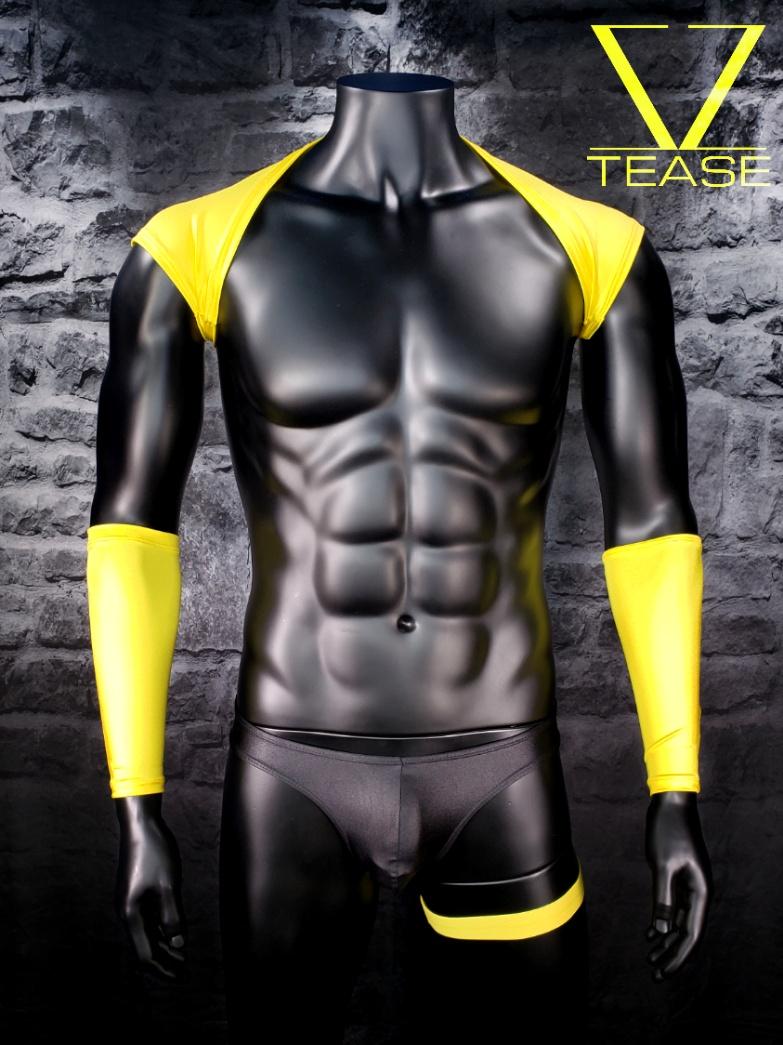 Yellow Men's Shoulder Shrug