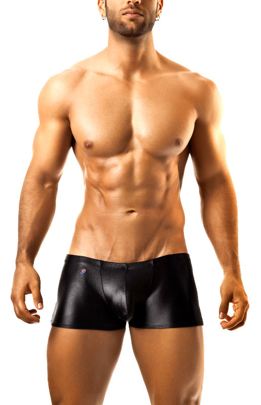 Men's Black Shinny Boxer