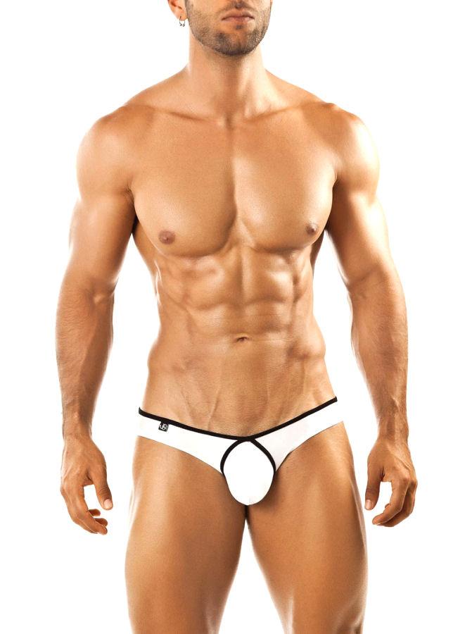 White Bikini Pride Frame Underwear